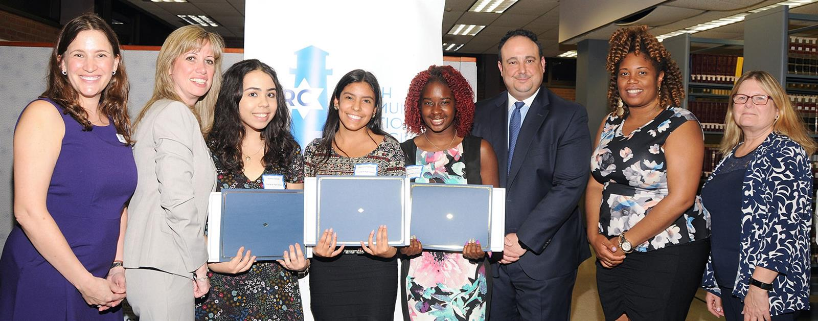 Three Students Recognized for Humanitarian Efforts photo