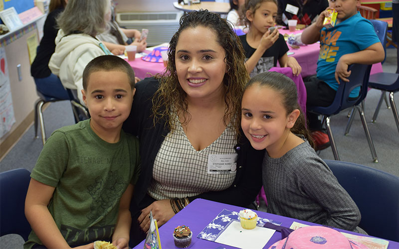 Second-Grader Share Stories for Mother's Day Photo