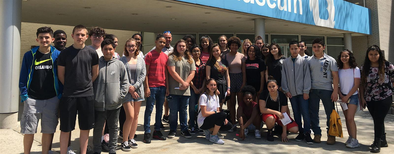 Students Connect with Art During Museum Visit photo