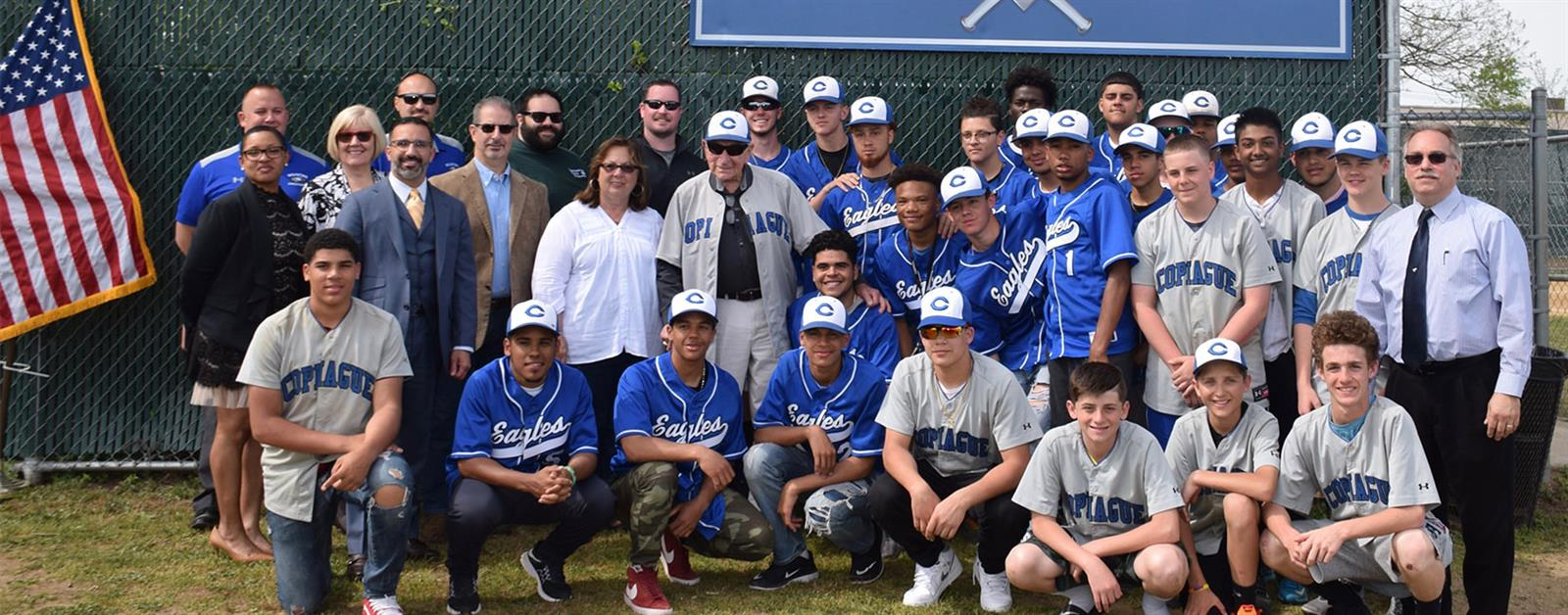 Copiague Baseball Field Dedicated to Former Athletic Director photo