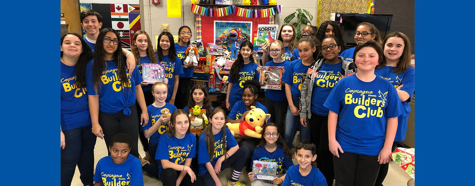 Builders Club Toy Drive Benefits Local Children photo