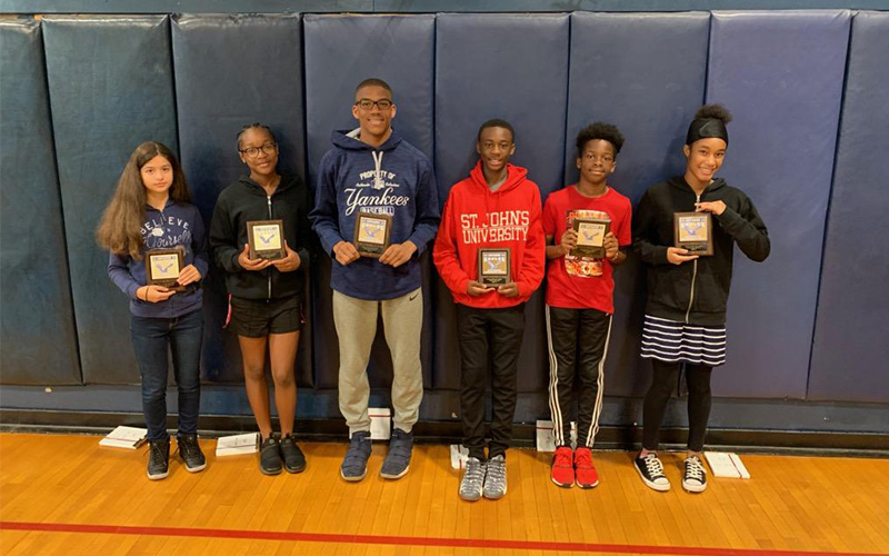 Middle Schoolers Compete in Pentathlon photo