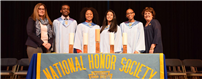 More than 30 Copiague students inducted into  National Honor Society photo