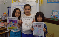 First-Graders Feature Family Facts photo