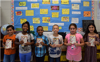 Third-Graders Seeking the 'Golden Ticket' photo