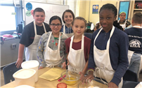 Future Chefs Lend a Helping Hand photo