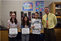 Middle School Scientists Recognized in ExploraVision Contest photo 3