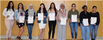 Young Artists Recognized with Fine Arts Honor Society Induction photo